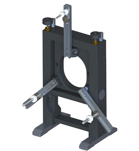 Precise Adjustable Kinematic Mount for Large Optics 840-0005-05