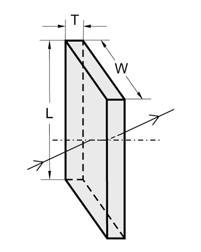 Precision Rectangular Windows