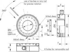 Polarizer Holders 840-0180-A, 840-0180-B 840-0180-A1