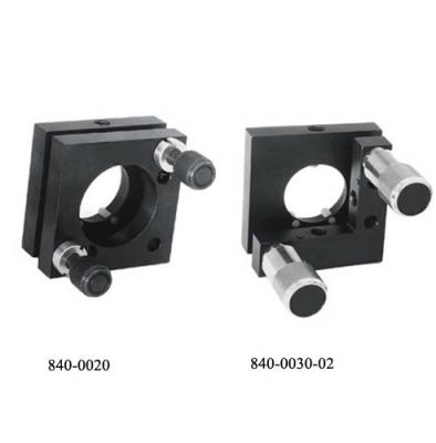 Kinematic Mirror and Beamsplitter Mounts 840-0010, 840-0020, 840-0030