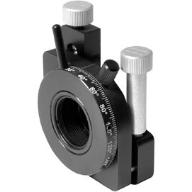 Optical Mount of Side Drive with Adjustable Polarizer Holder 840-0197