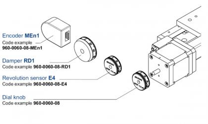 Ordering Information for Motorized Translation and Rotation Stages