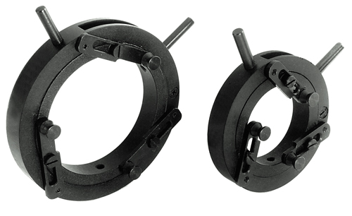 Self-Centring Lens Mounts 830-0010, 830-0020_1