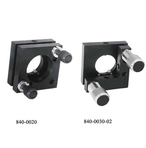 Kinematic Mirror and Beamsplitter Mounts 840-0010, 840-0020, 840-0030_1