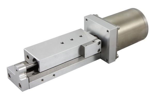 Vacuum Compatible Narrow Motorized Translation Stage 961-0050V_1
