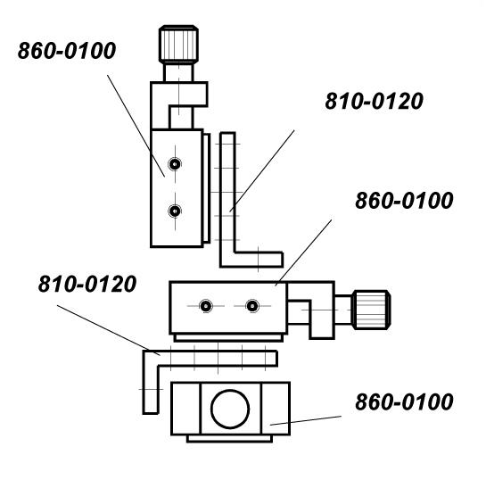 Micro Translation Stage 860-0100
