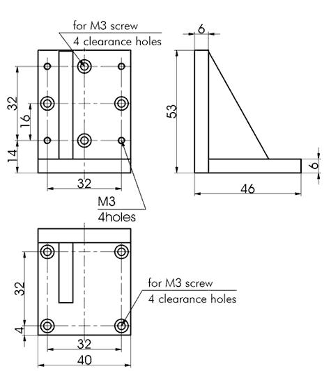Angle Bracket 810-0112