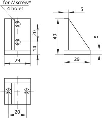 Angle Bracket 810-0145