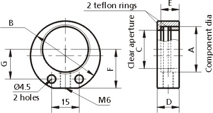 Optical Component Mounts 830-0037