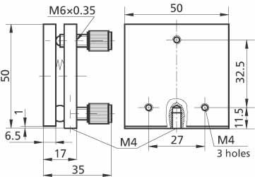Universal Mirror Mount/Platform 840-0052
