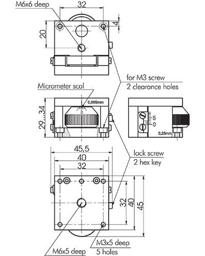Aluminium Ball Bearing Vertical Stages 860-0098