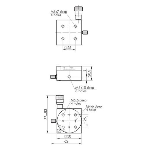 Mini Rotation Stage 860-0120