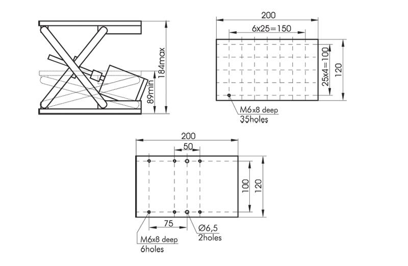 Motorized Vertical Translation Stage 940-0200
