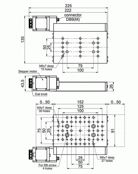 Motorized Translation Stages 960-0070-03
