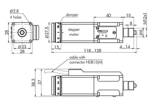 Motorized Actuator 970-0065