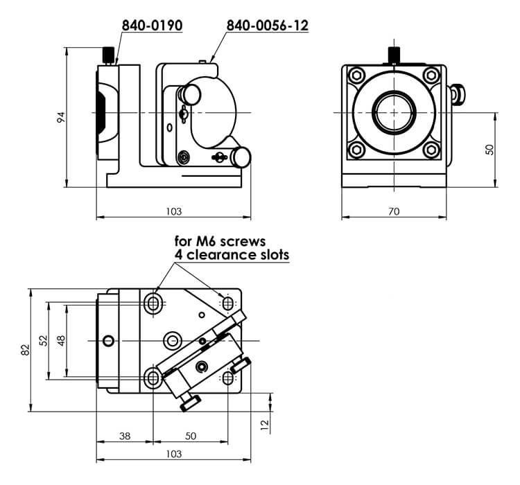Vartiable Atttenuator for Nd:YAG Laser Pulses 990-0072