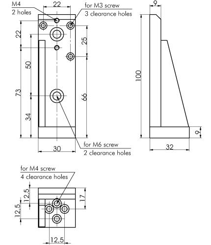 Angle Bracket 810-0150-01