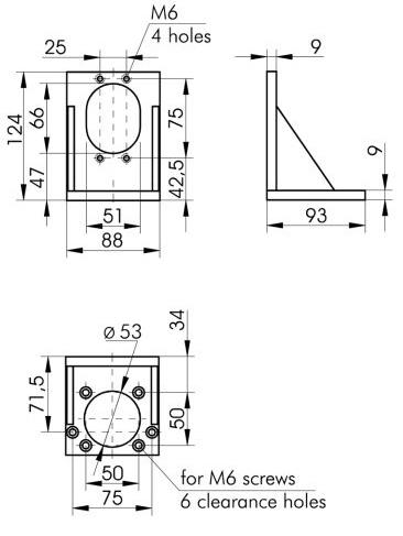 Angle Bracket 810-0115