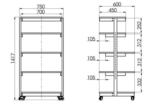 Laboratory Rack Device 790