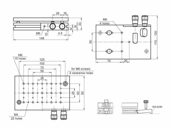 Multi-Axis Tilt Platform 850-0010