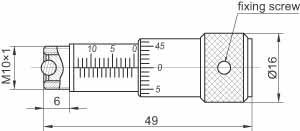 Precise 870-0010 and Micrometer 870-0020 Screws