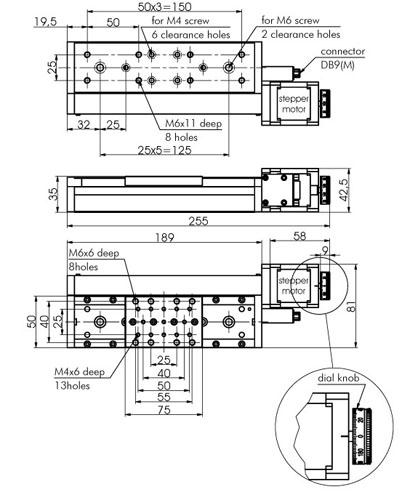 Motorized Translation Stage 960-0065