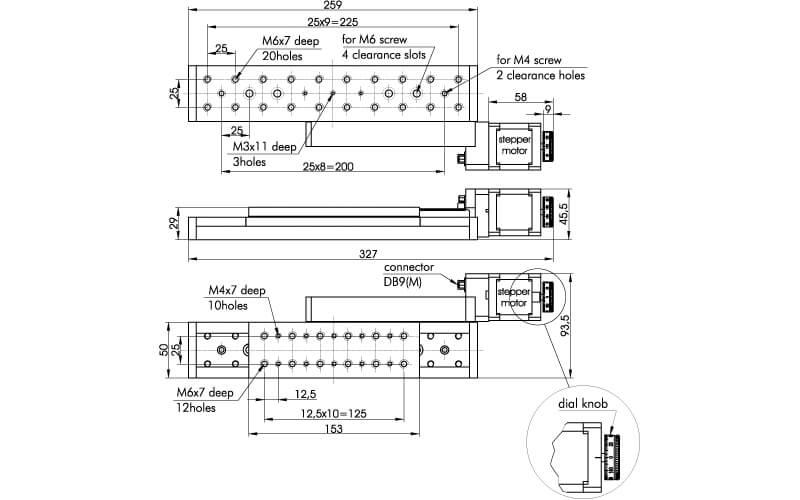 Motorized Translation Stage 960-0090