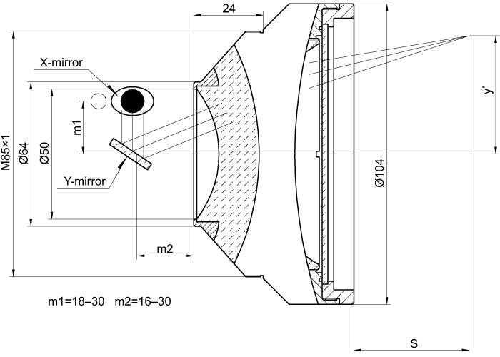 F-Theta Lens for 1064 nm