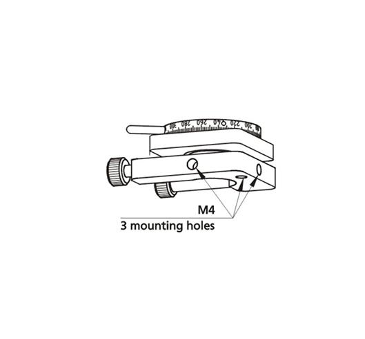 Adjustable Polarizer Holder of Side Drive 840-0195