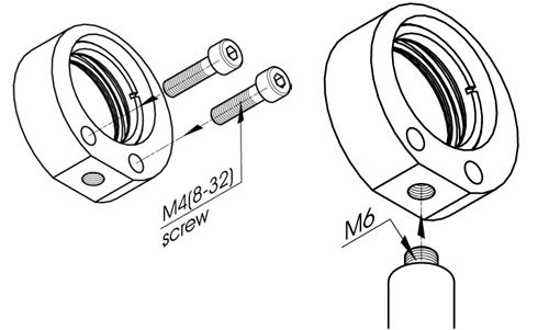 Optical Component Mounts 830-0037