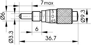 Mini Micrometers 870-0055