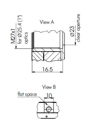 High Precision Rotation Polarizer, Waveplate Mount 840-0186