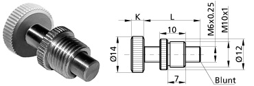 Ultra-Fine Adjustment Screws 870-0080