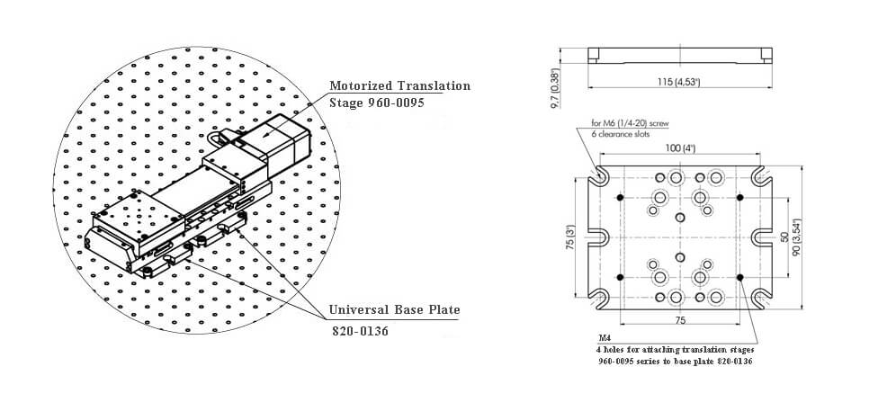 Motorized Translation Stage 960-0095