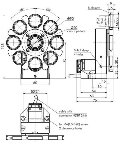Universal Motorized Rotation Stage 960-0190
