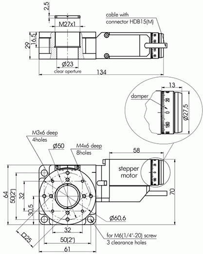 Motorized Rotation Stages 960-0160