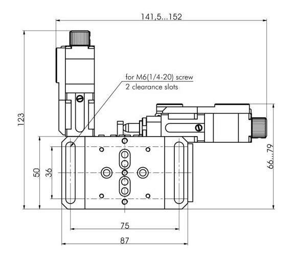 Motorized Translation Stage 970-0080