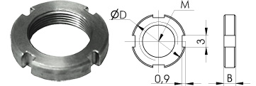 Fine Hex Adjustment Screws 870-0090, 870-0095