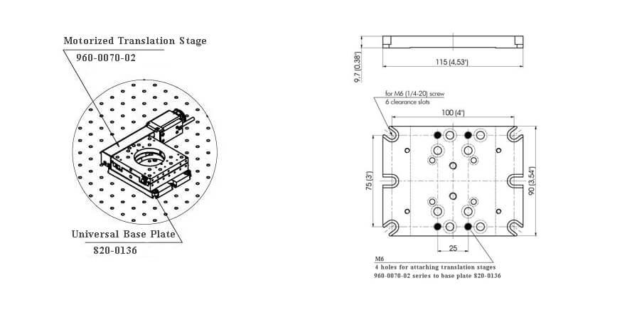 Universal Base Plate 820-0136